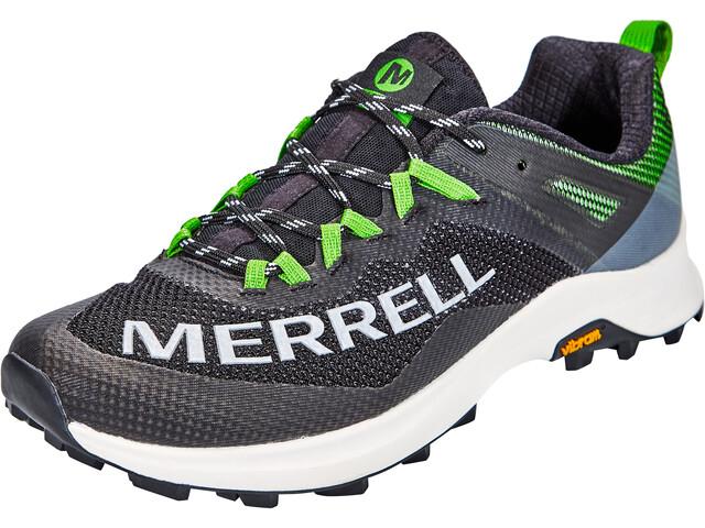 Merrell MTL Long Sky Schoenen Heren, black/lime